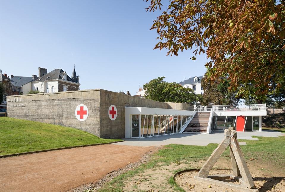 MUSEE BLOCKHAUS HOPITAL LES SABLES D'OLONNE